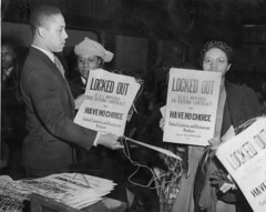 Strike begins at government cafeterias: 1947