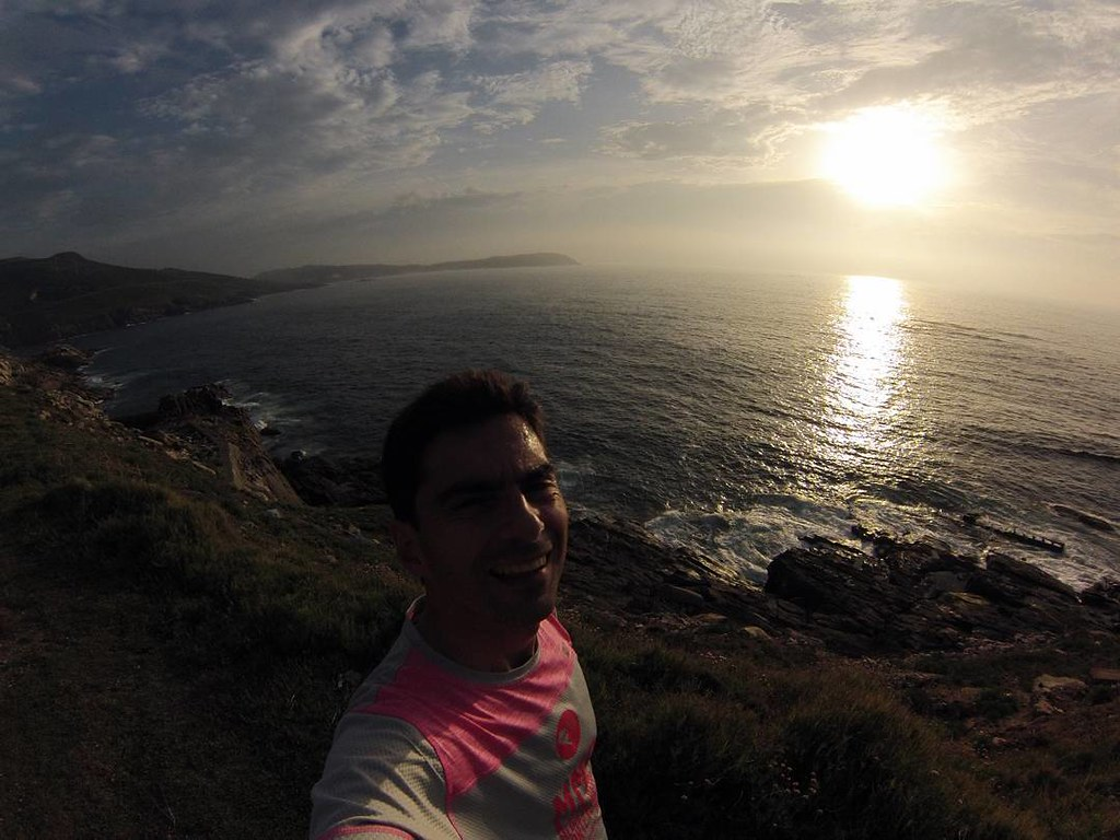 Sunset in Galifornia. #sunset #whilerunning #galifornia #Coruña #photography #gopro