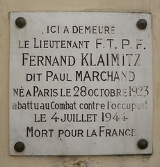 Photo of Marble plaque number 42930