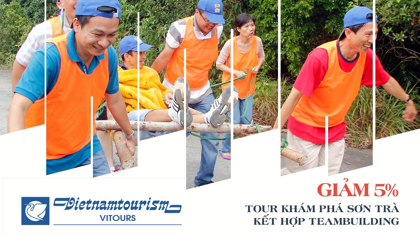 Vitours   Giảm 5% Tour khám phá bán đảo Sơn Trà kết hợp team building 2