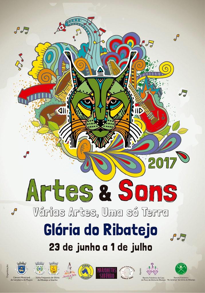 folheto artes e sons 2017