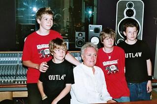 Roger Taylor @ XFM Radio - 2005