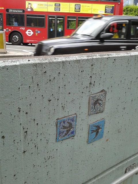 Bird Mosaics Near Waterloo