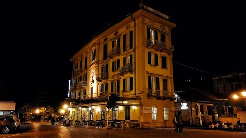 Lo storico albergo Olivedo a Varenna