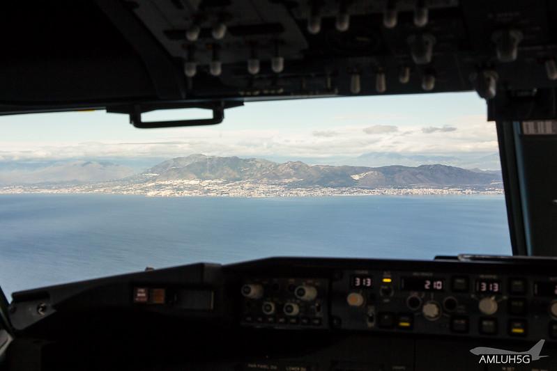 Streckenerfahrungsflug D-ATUN