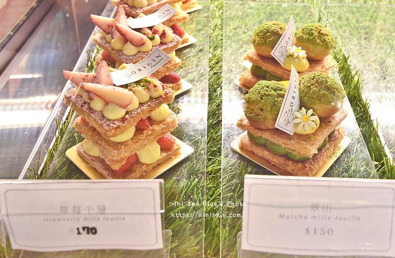 台中甜點小原咖啡菜單menu價位精誠路03