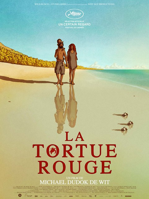 La Tortue Rouge - Poster 1