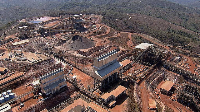 Minas-Rio project, in Conceição do Mato Dentro - Créditos: Press Release/Anglo American