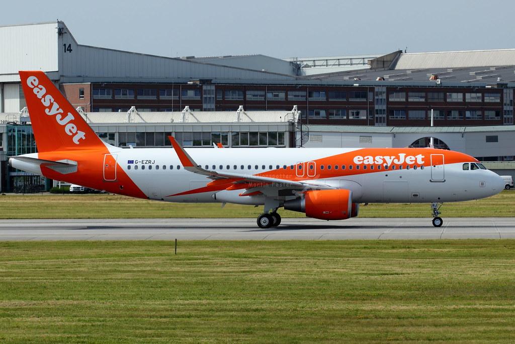 G-EZRJ - A320 - EasyJet