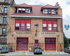 FDNY Firehouse Engine 82 and Ladder 31, West Farms, South Bronx, New York City