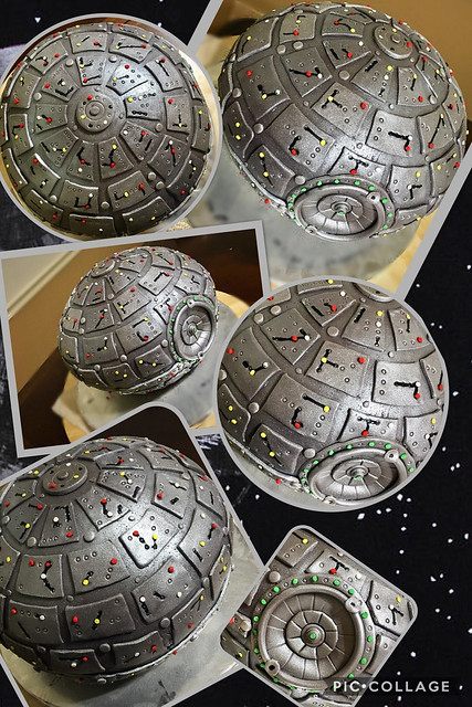 Star Wars-Death Star Cake by Delicious Sweet Creations