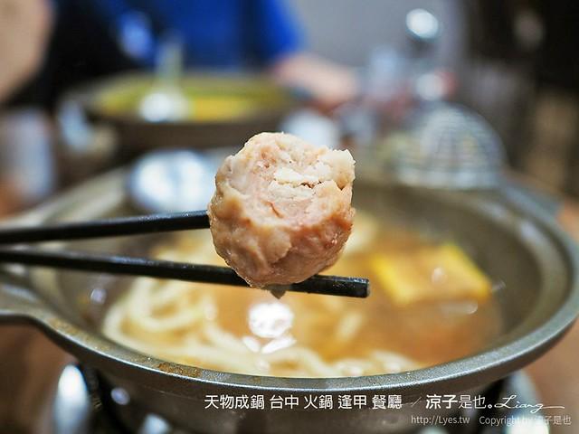 天物成鍋 台中 火鍋 逢甲 餐廳  29