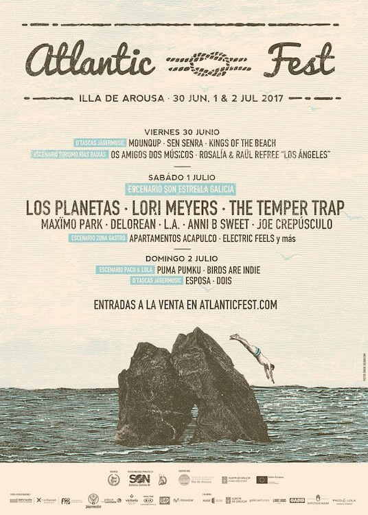Atlantic Fest 2017 - cartel completo