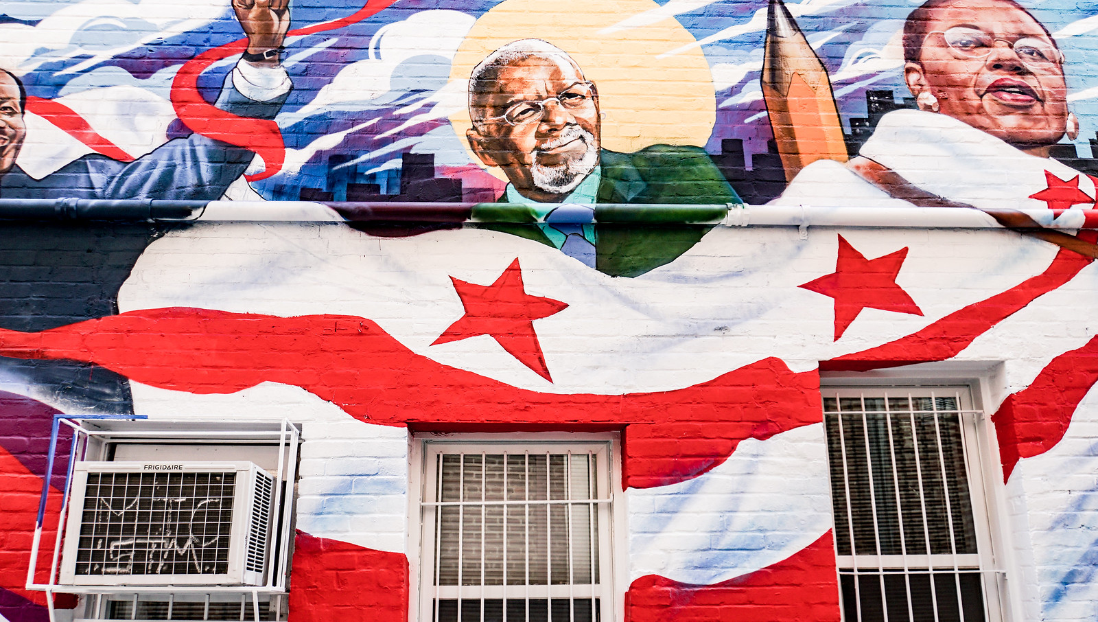 2017.06.26 Ben's Chili Bowl Mural, Washington, DC USA 6865