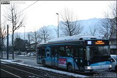 Irisbus Agora S GNV - Sémitag (Société d'Économie MIxte des Transports publics de l'Agglomération Grenobloise) / TAG (Transports de l'Agglomération Grenobloise) n°3054