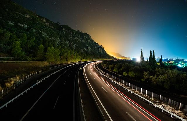 Highway, Nikon D750, AF-S Nikkor 20mm f/1.8G ED