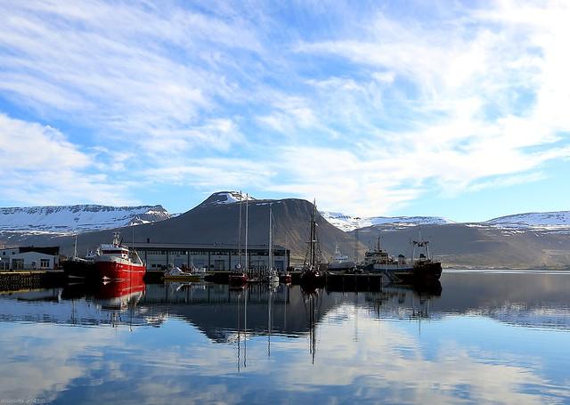 Ísafjarðarhöfn, Canon EOS 70D, Canon EF-S 10-22mm f/3.5-4.5 USM