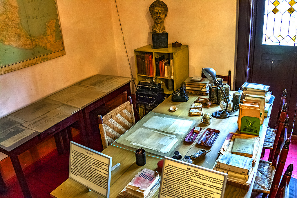 Trotsky's study--Mexico City