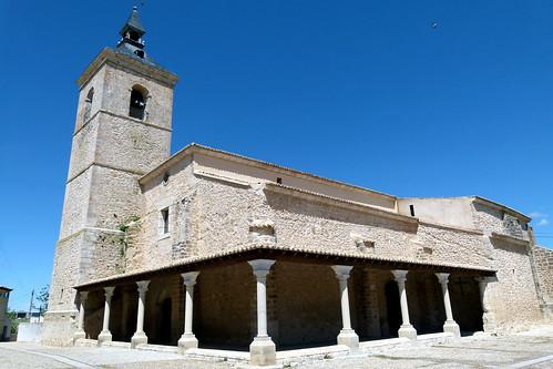 FUENTELENCINA (Guadalajara). La Alcarria. Spain. 2015. Iglesia de la Ascensión de Nuestra Señora.