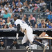 Yankees shortstop Didi Gregorius flies out during the fourth inning.
