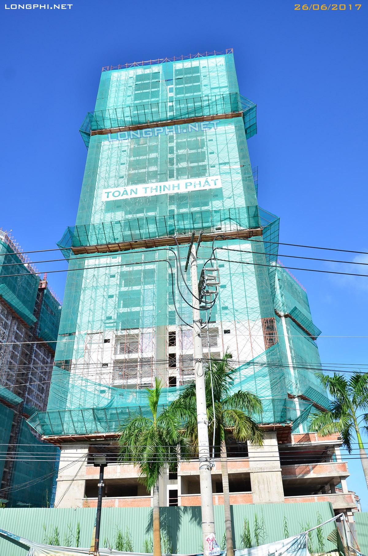 Tháp Bắc M1 Luxury Home có view nhìn quyệt đẹp về trung tâm thành phố.