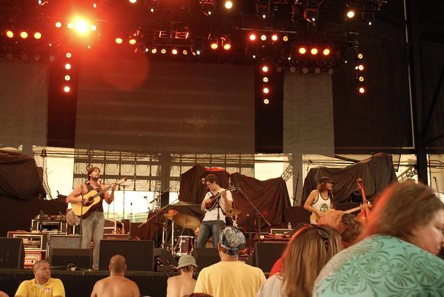 Cabinet @ Peach Music Festival, Moosic, PA, 10 August 2012