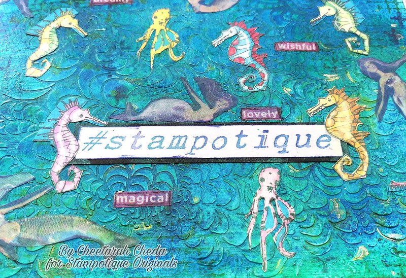 Stampotique card use tape