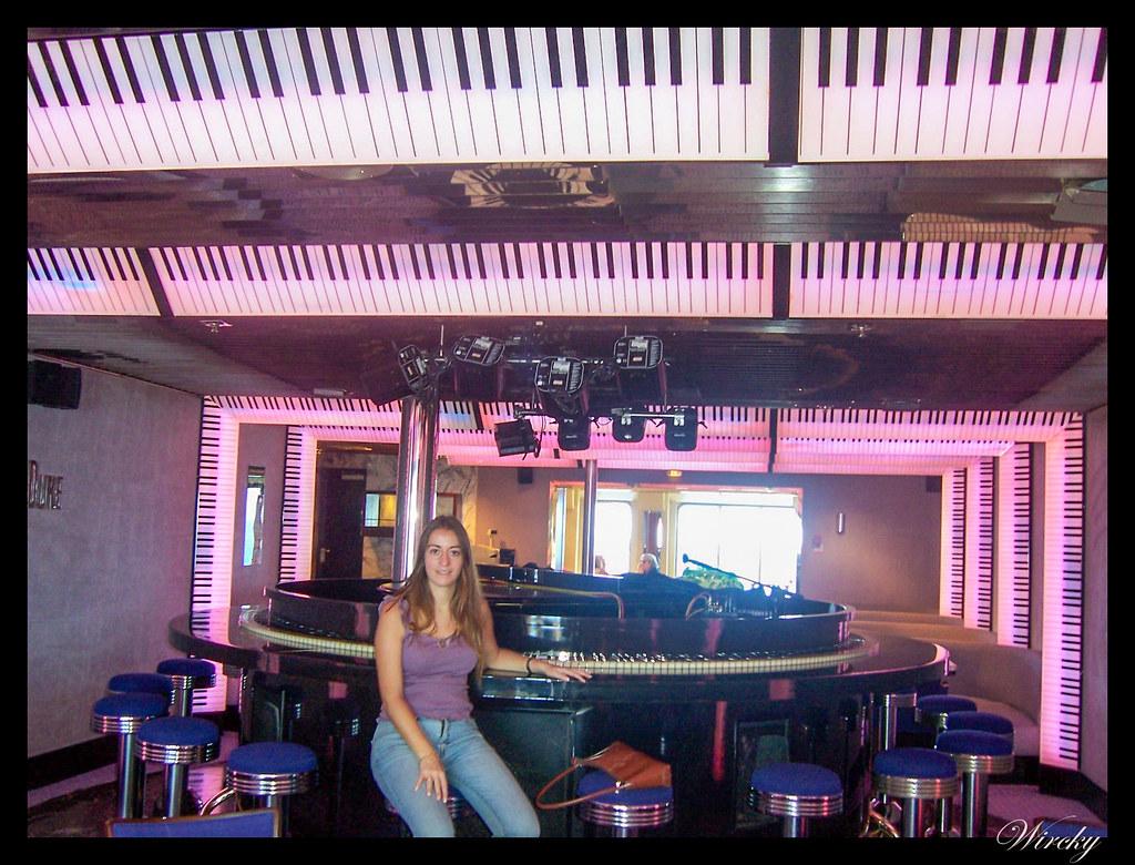 Crucero por el Mediterráneo - Piano bar