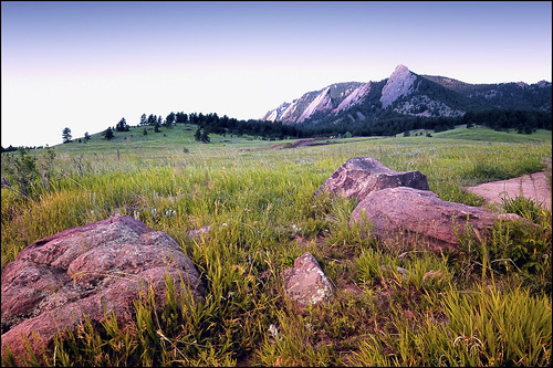 boulder dawn flatirons chautauquapark mountain rokinon 14mm colorado field meadow wideangle