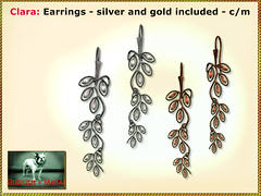 Bliensen - Clara - Earrings