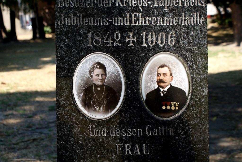 Dans un cimetière de Bratislava