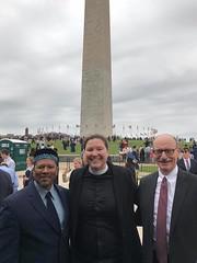 GWU Rev. Kelly Moughty, Rabbi Daniel Zemel, Imam Talib Shareef