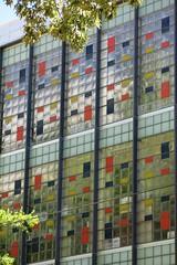 California State Employees Association Building - Sacramento, Calif. - Curtain Wall Close-Up