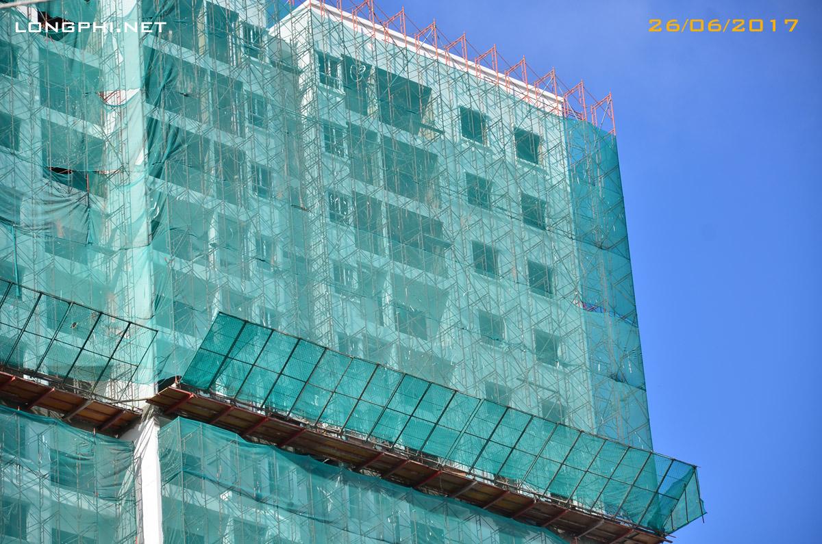 Tháp Bắc Jamona Apartment tiến độ 26/06/2017.