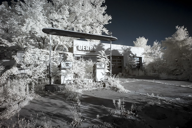 Derby Station Infrared