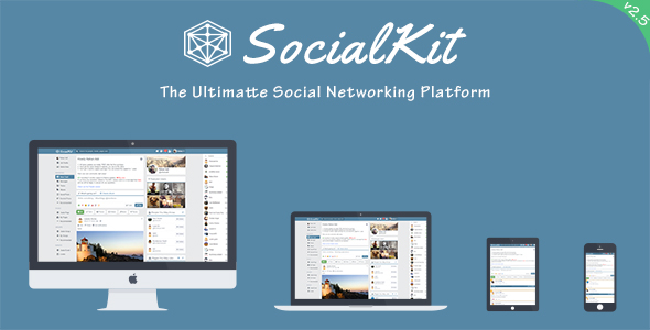 SocialKit v2.5.0 – The Ultimate Social Networking Platform