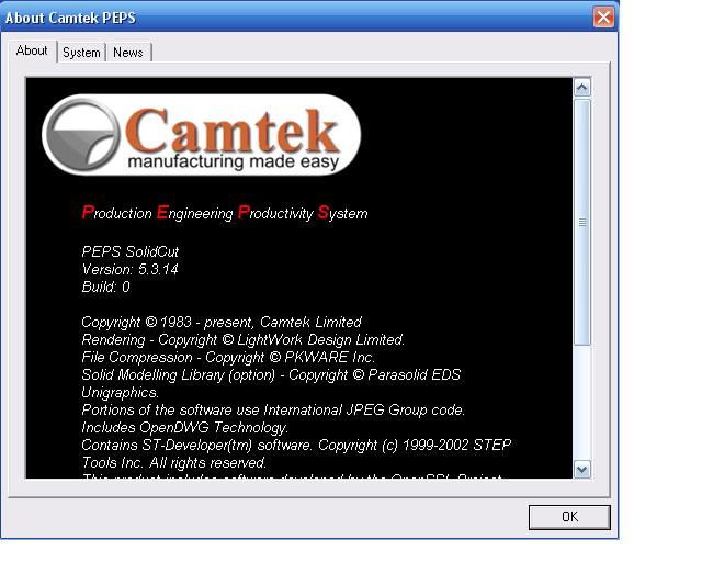 PEPS CAD CAM system 5.3.14 full