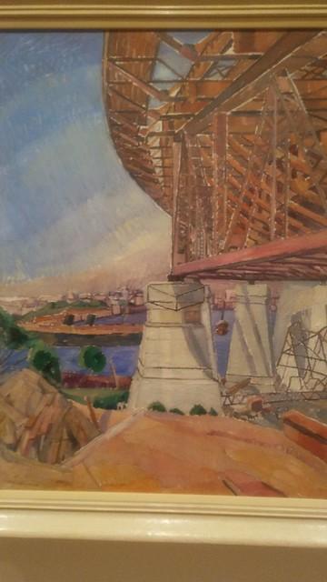 Grace Cossington Smith The Curve of the Bridge 1928-29