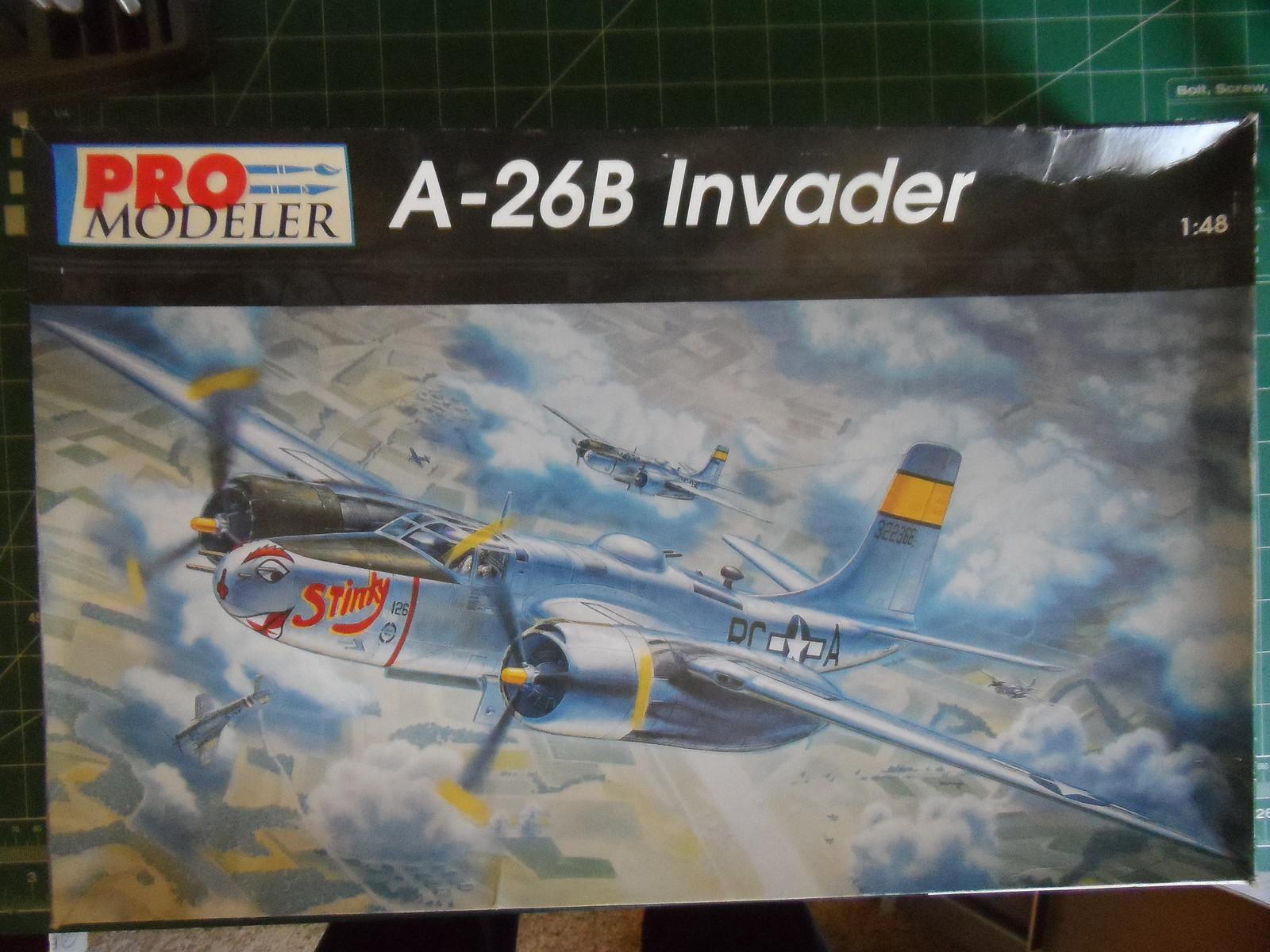 Monogram Pro-Modeler 1/48th Douglas A-26B Invader