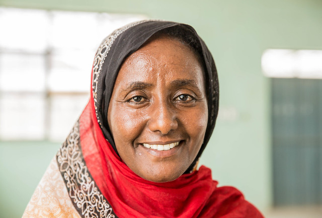Asrat Belayneh, a teacher at Erubeti Woreda, Afar Regional State.