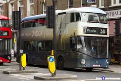 Wrightbus NRM NBFL - LTZ 1220 - LT220 - Samsung Galaxy S8 - Victoria 38 - Arriva London - London 2017 - Steven Gray - IMG_1246