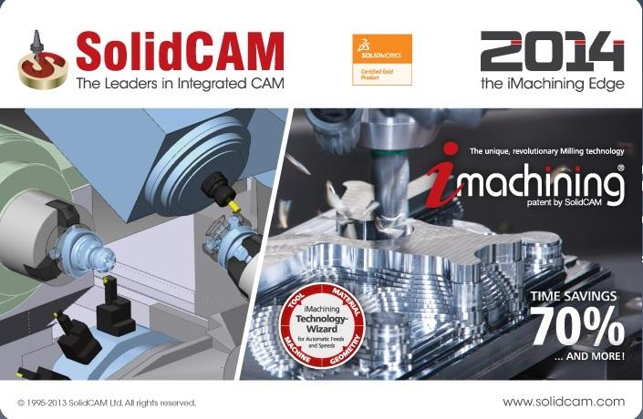 SolidCAM 2014 SP5 HF4 for SolidWorks 2012-2015 32bit 64bit full crack