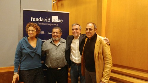 Santiago Montobbio en SGAE Catalunya marzo 2017 Fotos: Sofía Isus