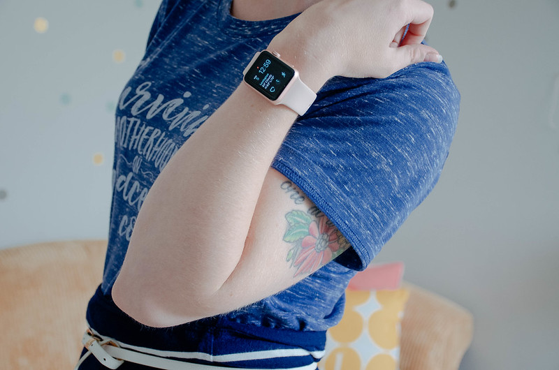Must Have Accessories for The Nerdy Mom: GlassesShop.com + Rose Gold Apple Watch