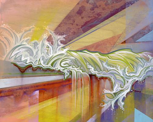 Surge, by artist Spencer Reynolds
