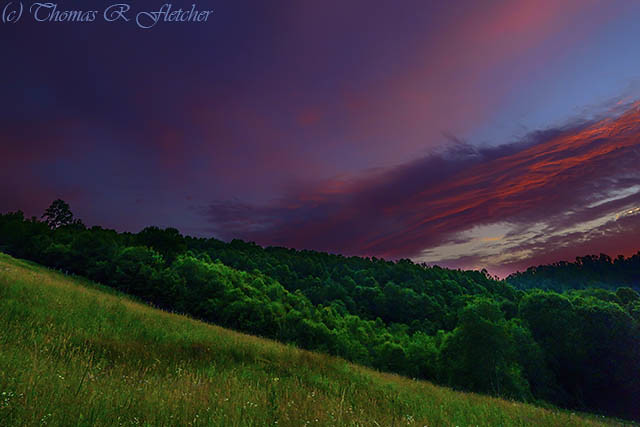 Appalachian Afterglow