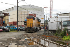 UP 667 ~ Seattle Industrial District