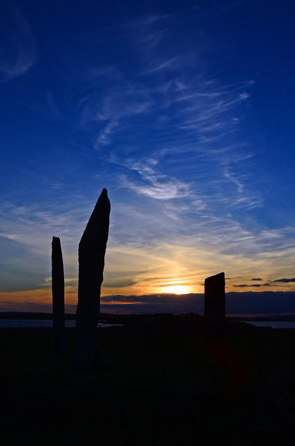 Stenness Stones at Dusk