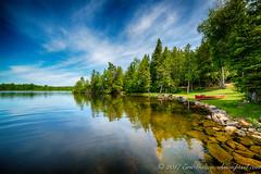 On the shore, White Lake, Ontario, Canada