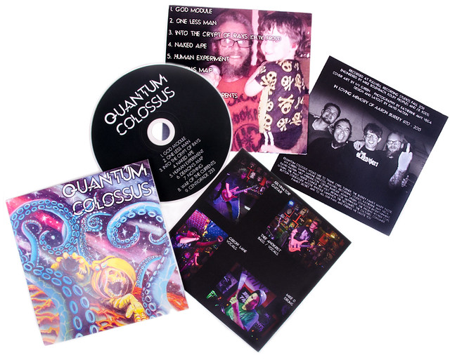 Quantum Colossus Album Packaging